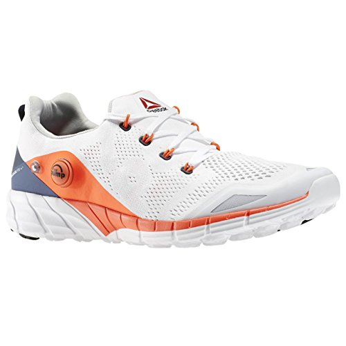 Reebok Zpump Fusion 2.0 Knit, Chaussures de Running Entrainement Homme Blanc / Rouge / Bleu (White / Atomic Red / Midnight Blue / Coll Nvy)