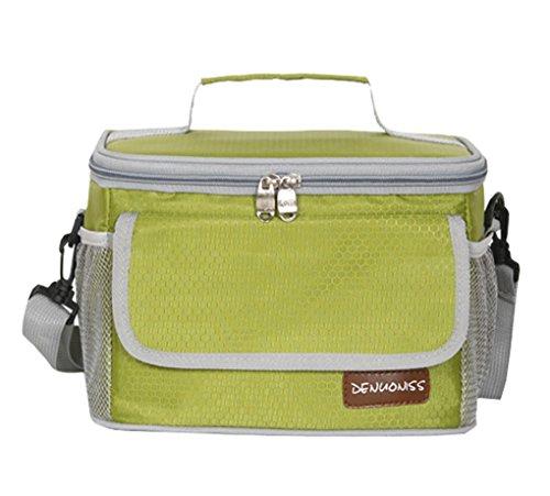 LemonGirl 5L-6L Wasserdichte Multi-Tasche Kühler Isolierte Lunchpaket für Männer Frauen Picknick -