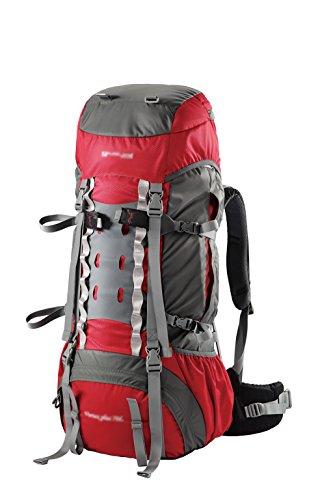 zaino trekking Outdoor Zaino Sport alpinismo uomini borsa e di spalla delle donne borsa da viaggio impermeabile professionale di grande capienza 55L borsa da viaggio Zaini da escursionismo ( Colore :  A