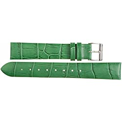 Leather Watch Strap 22 MM Imperial Watches Leather Watch Strap 22 MM Locking Gr? N? E: Wei?