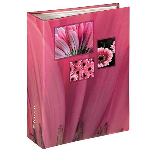 Hama 106262 album, 10 x 15 cm, 100 pagine, 100 foto, rosa