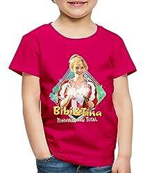 Bibi Und TinaTohuwabohu Total Hex Hex Kinder Premium T-Shirt, 134/140 (8 Jahre), Dunkles Pink