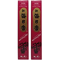 Trimontium 186 Nippon Kodo Morning Star japanische Räucherstäbchen Duopack, 2 x 50 Stück, Rose preisvergleich bei billige-tabletten.eu