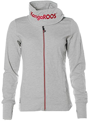 KangaROOS -  Giacca sportiva  - Collo mao  - Maniche lunghe  - Donna Grigio