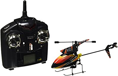 s-idee® 01140 V911 4.5 Channel 2.4 GHz Remote-Control Helicopter with LCD Display and Gyroscope Technology For indoors and outdoors, with built-in gyro and 2.4 GHz controller Ready to fly!
