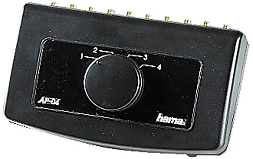 Hama Audio-Umschaltpult AP 04, 4-fach