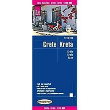 Reise Know-How Landkarte Kreta (1:140.000): world mapping project