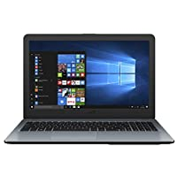Asus Vivobook X540MA-GQ189T Laptop (Silver) - Intel Celeron N4000, 15.6-Inch HD, 1000GB HDD, 4GB RAM, 15.6 inch, Windows 10, Eng-Arb-KB