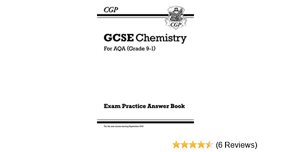 New GCSE Chemistry: AQA Answers for Exam Practice Workbook by CGP