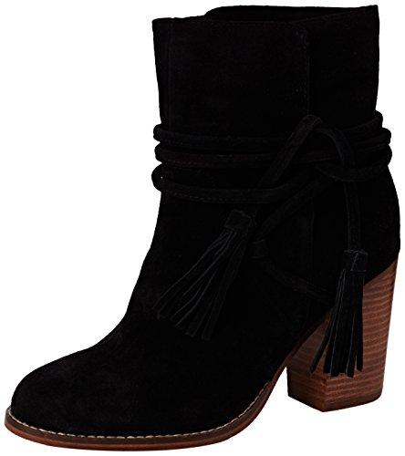 ALDO Contessina, Bottes Classiques femme Noir (Black Suede / 91)