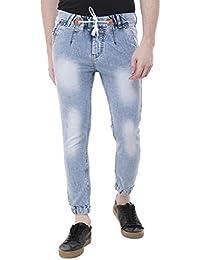 Light Jogger Blue Fit Styzon Men's Jeans wZAdwq