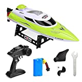 Best Green Toys Remote Control Boats - Iusun Gift Toys RC Boat, HJ806 High Speed Review