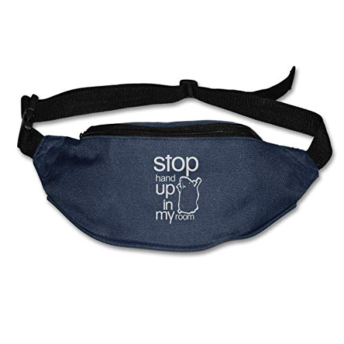 Waist Bag Fanny Pack I'm Three Let's Party Pouch Running Belt Travel Pocket Outdoor Sports