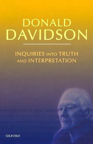 Inquiries into Truth and Interpretation: Philosophical Essays Volume 2