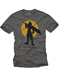 Cadeau Gamer - Tee Shirt Geek Homme - Fantasy Sword - I decided to live for both of us