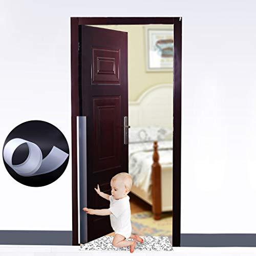 Outgeek Fermaporta, Porta Cerniera Guardia Bambino Prova Pizzico Guardia Forniture a Prova di Bambino per la Porta della Camera di casa