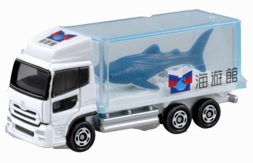 Takara Tomy Tomica #069 Nissan Diesel Quon Aquarium Truck (japan import) (Truck-box-tank)