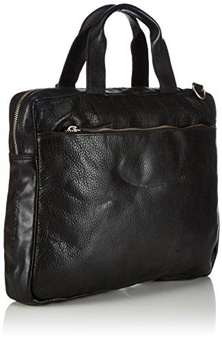 Cowboysbag Bag Manhattan, Borsa a mano Unisex – adulto Nero (Schwarz (Black 100))