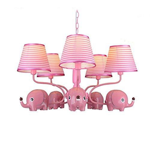 Uncle Sam LI- Lámparas para niños de Elefantes Europeos, lámparas Creativas para...