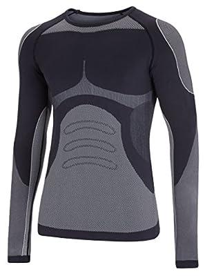 Herren Funktionsunterhemd Thermounterhemd aus hochwertiger Seamless Mikrofaser von noorsk bei Outdoor Shop