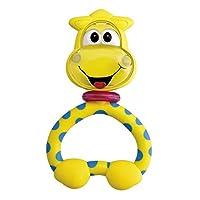 Chicco Fun Teething Rattles Giraffe Baby Teether Toy [Yellow]