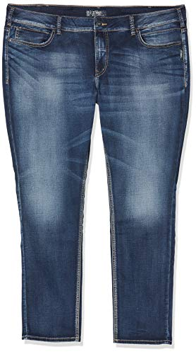 Silver Jeans Damen Suki Skinny Jeanshose, Blau (Indigo SWL387), W42/L31 (Herstellergröße: 22)