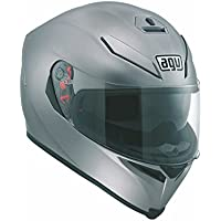 Casco moto AGV K5 Sv pianura Matt grigio completo moto