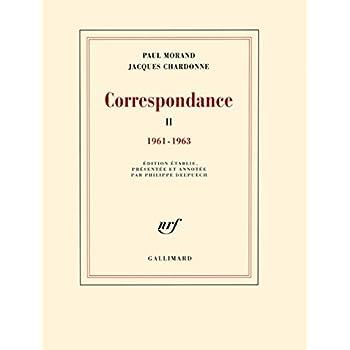 Correspondance (Tome 2-1961-1963)