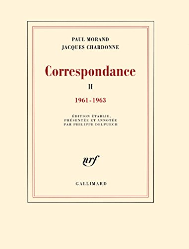 Correspondance Tome 2 1961 1963 [Pdf/ePub] eBook