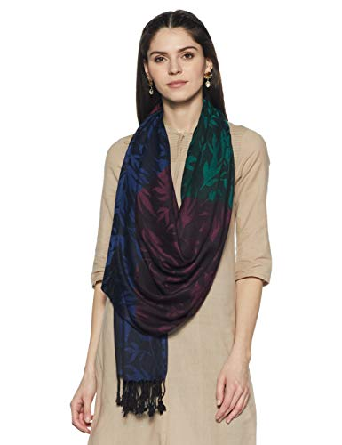 Weavers Villa Women's Stole (RT112!_Multi!_Large)