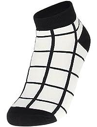 EOZY Femmes Hommes 5 Paires De Chaussettes Sportives Rayure Coton Socks