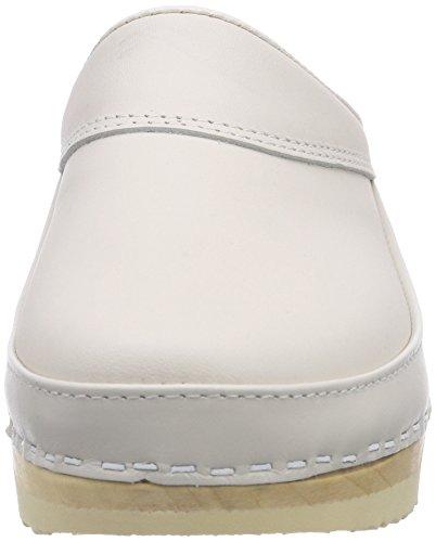 Gevavi 3820 Bighorn Flexibler Clog Weiß 41, Sabots Mixte adulte Blanc (weiss(wit) 01)