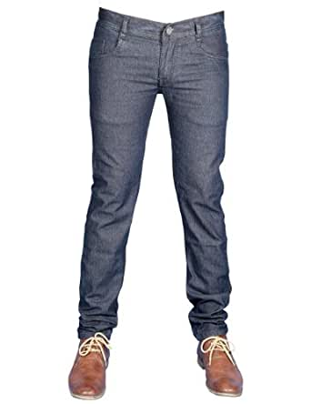 Coaster Men's Dark Blue Stretchable Regular Fit Jeans (AG-MD-3) 34