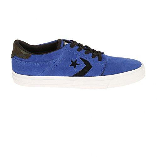 Chaussures Cons Tre Star Suede OX Blue/Black h16 - Converse Bleu