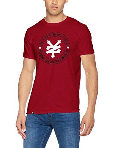 Zoo York Herren T-Shirt Ruckus Red (Cardinal Red)