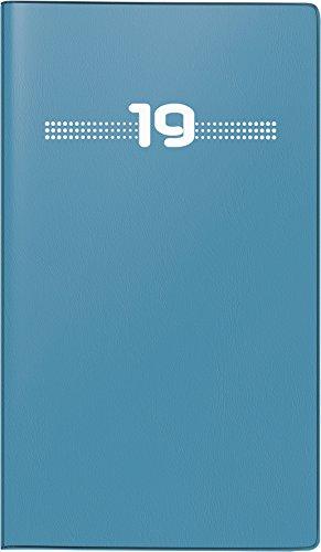 BRUNNEN Taschenkalender/Monats-Sichtkalender Modell 750, 2 Seiten = 1 Monat, 87 x 153 mm, Kunststoff-Einband pink, Kalendarium 2017 (107502803) por Baier & Schneider GmbH & Co. KG