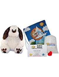 "Make Your Own Stuffed Animal ""Button The Dog"" - No Sew - Kit With Cute Backpack!"