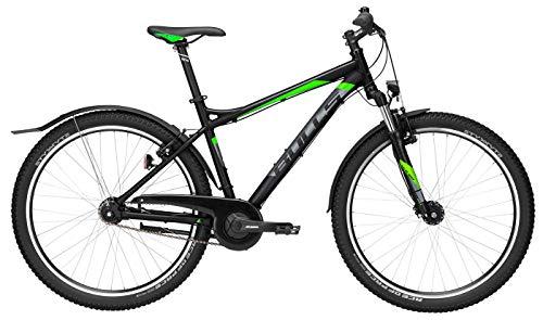 Herren Fahrrad 27,5 Zoll grau - Bulls Sharptail Street 1 Trekkingbike - Shimano Nabenschaltung mit Rücktritt, StvZO Beleuchtung