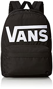Vans OLD SKOOL II BACKPACK Sac à dos loisir, 42 cm, 22 liters, Noir (Black/white)