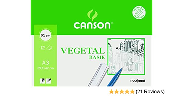 250/Sheets /Grease-Proof Paper A4 Guarro Canson 200406219/ 90/gm.