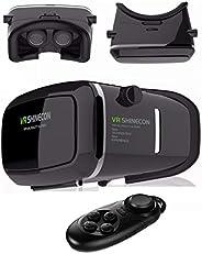 نظارات الواقع الافتراضي ثلاثية الابعاد اي ماكس مصنوعة من الورق المقوى لهاتف ايفون 6 اس وايفون 6 بلس