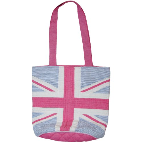 Borsa, Tartan - Patriotic (multicolore) - T_11 Union Jack Bright Plaid