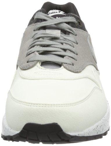 Nike  Nike Air Max 1 Essential, Black, chaussons d'intérieur homme Gris - Grau (Grau / Weiß)