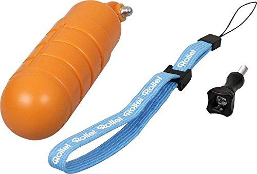 Rollei Schwimmgriff - Bobber - für Rollei Actioncam 200 / 300 / 400 und 500 Serie und GoPro Hero Modelle - Orange