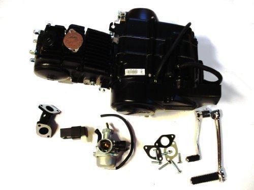HMParts Pit Bike/Dirt Bike/Monkey 1N234 Motor Set Loncin 125 ccm - 4 Gang Motor