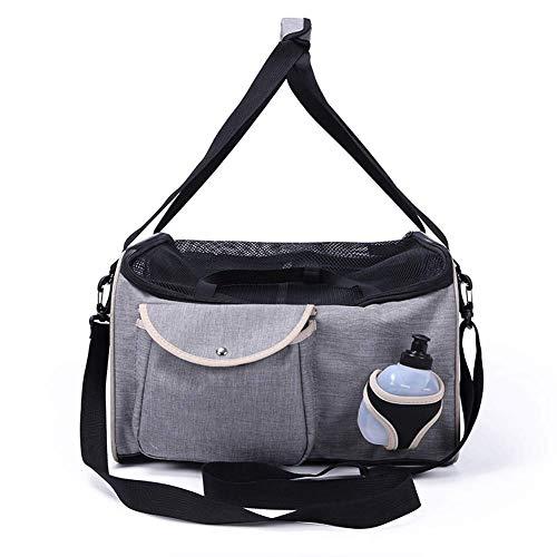 Adenlbahr Autositz und -Tasche,Tragbare Hundebox Faltbare Transportbox aus Oxford Gewebe Wasserabweisend für Haustiere, 39 * 36 * 28 cm - T -