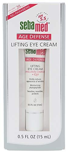 Sebamed Anti Aging Q10 Lifting Eye Cream 15 ml. , PH 5.5 for sensitive skin ,Averaging 32% reduction of wrinkles within the 28 day test period , Germany Brand by Sebamed