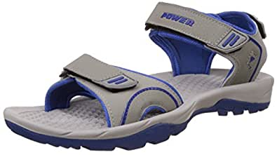 Power Men's Rado Grey Athletic & Outdoor Sandals - 11 UK/India (45 EU) (8612038)