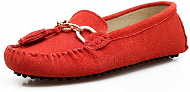 MINITOO Femmes-dérapant sur Le Confort Pompon Pompon Pompon Loafers Chaussures en Daim Plates de ConduiteB00Y6P3T8UParent | Jolie Et Colorée  | En Ligne Outlet Store  5f018c