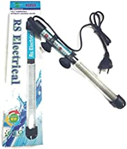 RS Electrical Fully Automatic 100 Watts High Glass Aquarium Heater with Standby Light Indicator and auto on/Off Facility Impo